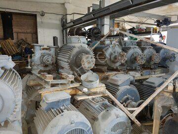 Склад двигателей 300 кВт_1000 об